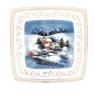 """Garnitur śniadaniowy Victoria (3 elementy) """"dekoracja zimowa"""""""