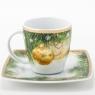"""Garnitur śniadaniowo - kawowy Victoria dla 12 osób (40 elementów) """"dekoracja świąteczna"""""""