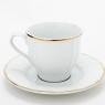 """Garnitur do kawy Maria dla 6 osób """"złota linia"""" (20 elementów)"""