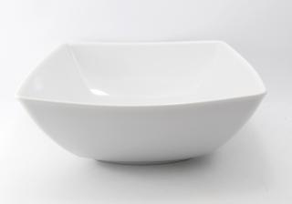 Salaterka kwadratowa biała 230 Victoria