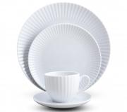 Serwis obiadowo-kawowy Daisy dla 6 osób (30 elementów)