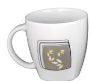 Garnitur do kawy Victoria dla 12 osób (41 elementów)