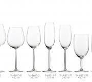 Zestaw kieliszków do szampana Diva 120 ml dla 6 osób