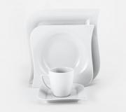 Serwis obiadowo-kawowy Opera/Beata dla 6 osób (30 elementów)
