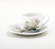 """Filiżanka ze spodkiem 20/165 Avocado """"kwiat magnolii"""""""