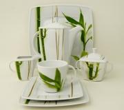 "Garnitur do kawy Victoria dla 12 osób ""bambus"" (41 elementów)"
