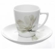 "Filiżanka ze spodkiem 10/120 Beata/Sonia ""kwiat magnolii"""