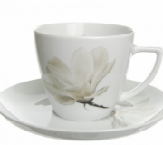 """Filiżanka ze spodkiem 35/175 Beata/Dorota """"kwiat magnolii"""""""