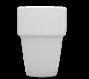 Kubek barowy biały 20 Hel
