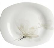 """Talerz płytki 230 Avocado """"kwiat magnolii"""""""
