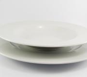 Serwis obiadowy biały Roma/Sonia/Venus dla 12 osób (44 elementy)